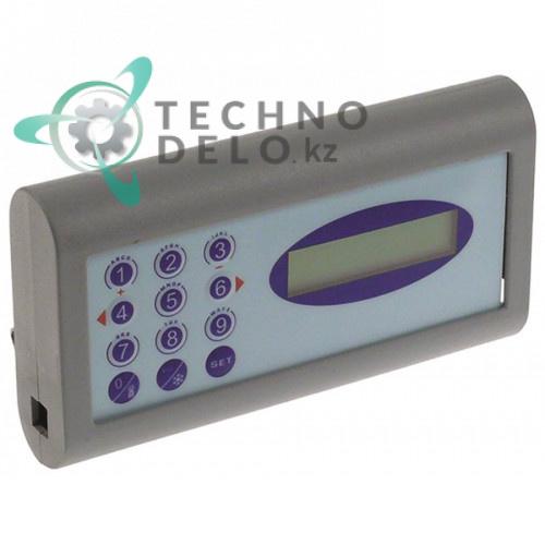Панель управления (электронная плата в корпусе) 12 кнопок серый корпус для холодильного оборудования ISA и др.