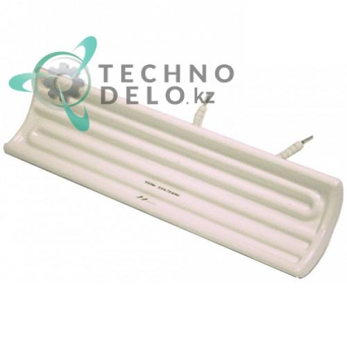 Нагреватель керамический 400Вт 230В (код 058144 / 1RCTC0FTE004) для оборудования Electrolux, Modular и др.