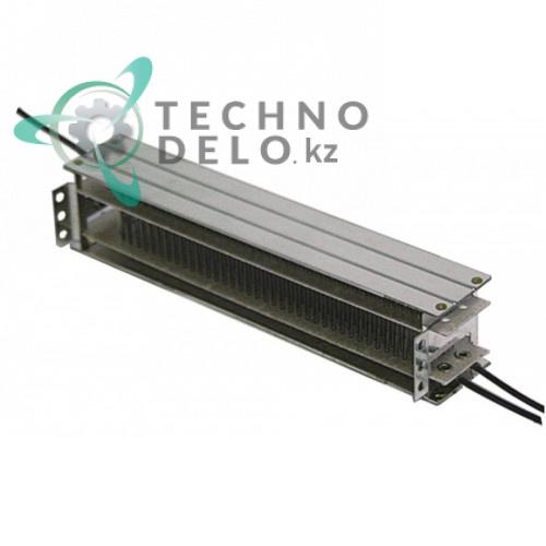 Регистр 185x40x35мм 2000Вт 230В 105°C 33010701 вентилятора для Rieber