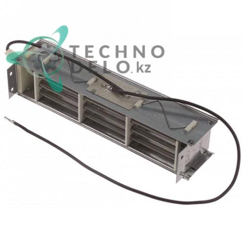 Регистр 195x38x40 2000Вт 230В 125°C вентилятора