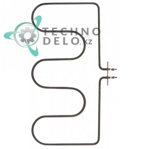 Тэн 1000Вт 230В 217x424мм трубка d-6.3мм M4 сухой нагреватель RC00171000 для тостера Tecnoinox TS14/TS15/TSP0/TSP1 и др.