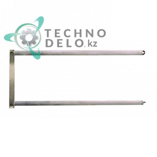 Нагреватель кварцевый L410мм ø11мм 1000Вт 230В 30014100 тостера Bertos 12T/6T, Dihr F120/F60 и др.