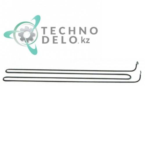 Тэн 1000Вт 230В 600x54x82мм трубка d-8.5мм M5 сухой нагреватель 052919 052920 для сковороды Electrolux, Zanussi и др.