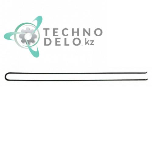 Тэн 1000Вт 230В 725x50мм сухой нагревательный элемент трубка 6,3мм 103640 530905 E318013 для гриля Eloma, Palux и др.