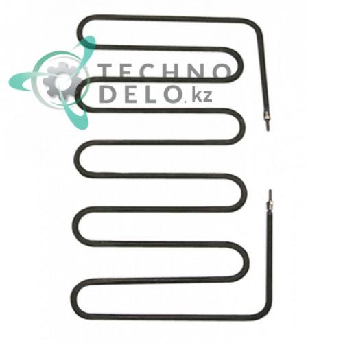 Тэн (1200Вт 230В) 192x305x10мм M4 сухой нагреватель 63.7.1015 для профессионального гриля CF Cenedese B800E, PD-1020 и др.