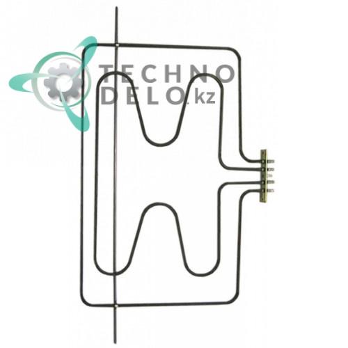 Тэн (3050Вт 230В) 325x474мм трубка d-6,3мм 537006200 C00141175 для духовки плиты Indesit, Lotus, Star и др.