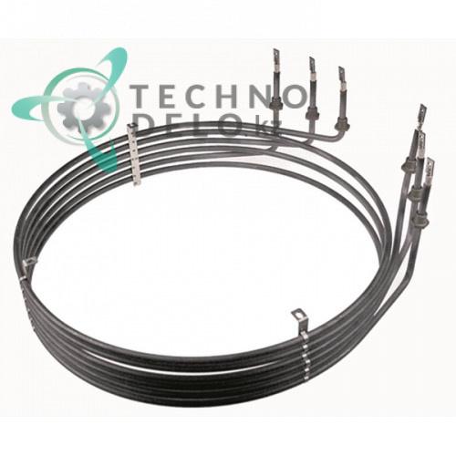 Тэн 15000Вт 220В ø437мм/ø454мм H-98мм 5007044 для теплового профессионального оборудования CONVOTHERM