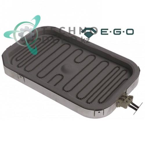 Конфорка нагреватель EGO 10.57401.340 1500Вт 230/240В 265x165x32мм для гриля