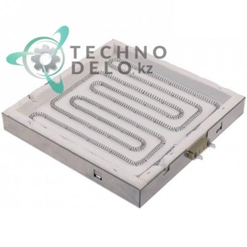 Конфорка нагреватель AD 225x225мм 63.7.1100 для контактного гриля CF Cenedese PDV-3020/PSV-3010