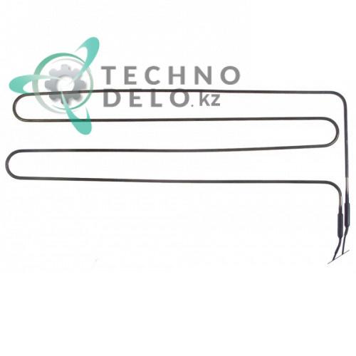 Тэн (1100Вт 230В) 277x630мм трубка d-6,3мм сухой нагревательный элемент 01152700R холодильной камеры Dexion, MBM