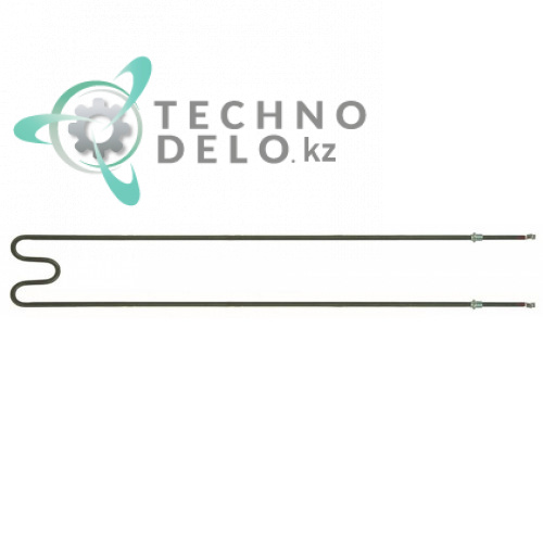 Тэн (1400Вт 230В) 898x132мм резьба 1/4 M5 трубка d-8,5мм 91711031 / ME0000013 для Cuppone, Electrolux