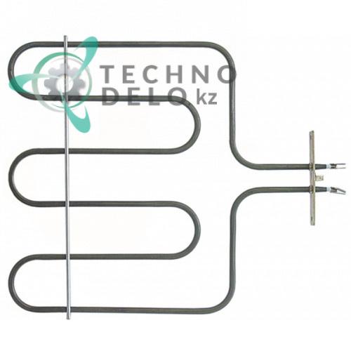 Тэн (1500Вт 230В) 350x510мм фланец 100x22мм трубка d-6,6мм RIC0002548 для плиты MBM Italien E6F6 и др.