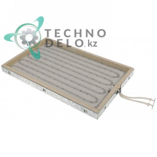 Конфорка нагреватель AD 100.105 2500Вт 230В 452x276мм для плиты MBM ECFT46/ECFT66