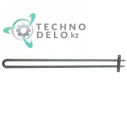 Тэн 1000Вт 230В  480x35мм фланец 70x22мм M4 трубка d8,5мм сухой нагревательный элемент для мармита Angelo Po