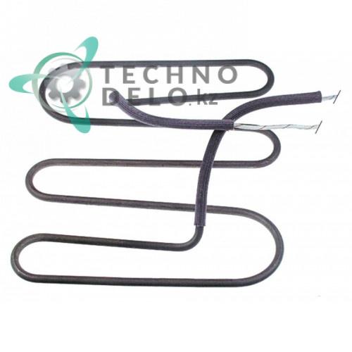 Тэн 1100Вт 230В 208x220x25мм трубка d-6,5мм сухой нагревательный элемент A017607 30008059 для гриля Bartscher, RSI и др.