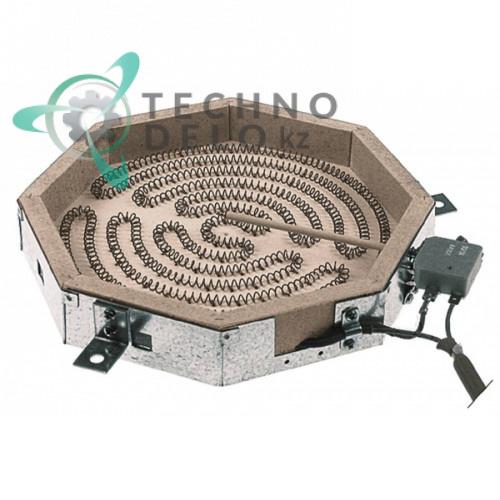 Конфорка нагреватель AD 100.154 2400Вт 230В 230x230мм для Mareno CT7-8EC и др.