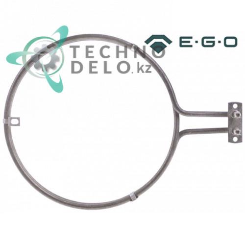 Тэн EGO 20.29477.000 2400Вт 230В ø186/192мм L-255мм H-26мм трубка 6,5мм конвекционный для оборудования HoReCa