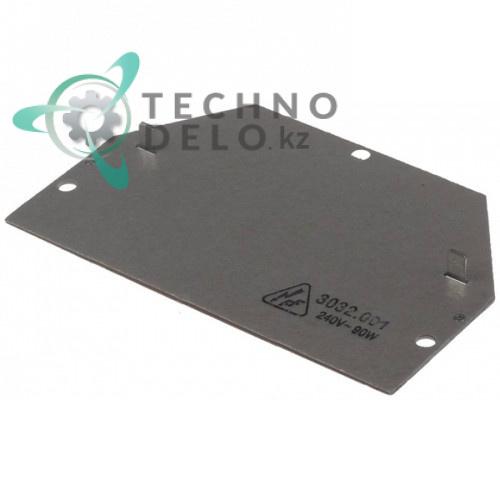 Нагреватель плоский 90Вт 240В 147x90мм 6.214.124.000 для Bravilor Bonamat BFT321/BFT322