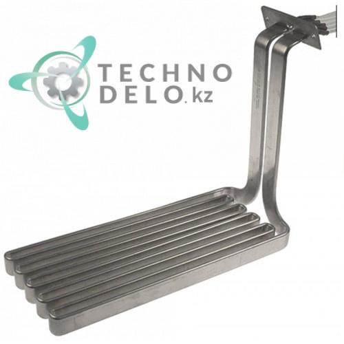 Тэн (11000Вт 240В) 400x145x300мм фланец 101x35мм провод L-1000мм универсальный нагреватель для фритюрницы