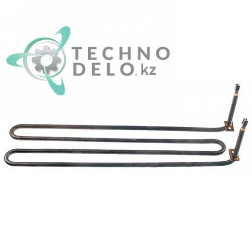 Тэн (1250Вт 230В) 407x88x20мм трубка d-8,5мм сухой нагреватель BN41826620070 BN826620070 гриль-плиты Baron 7FT-E400 и др.