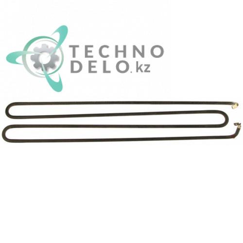 Тэн 1000Вт 230В 335x80x66мм трубка d-6,3мм воздушный нагревательный элемент для теплового оборудования