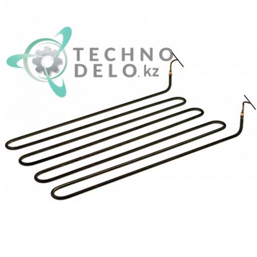 Тэн 3300Вт 400В 420x255x45мм диаметр трубки 6,5мм 1G563025 воздушный нагревательный элемент для Franke, Salvis
