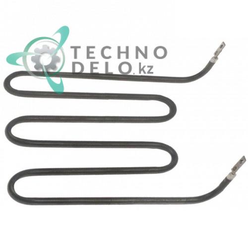 Тэн 1000Вт 230В 178x180x40мм трубка d-6,25мм M4 сухой нагреватель A039855 для прижимного гриля Bartscher A150671