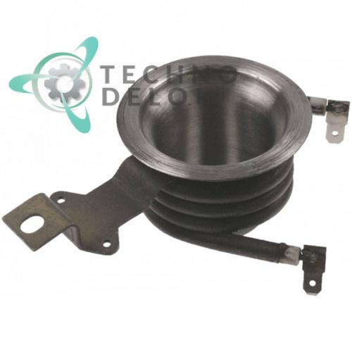 Тэн (1200Вт 230В) ø65/ø54мм трубка d-6,5мм для кофеварки Bartscher A190141/A190141/A190161/A190161, Horeca Select GCM1006 и др.