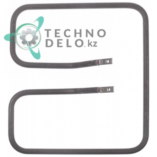 Тэн 1000Вт 220В 200x220x34мм трубка d-8,5мм сухой нагревательный элемент KO-B113-150 для контактного гриля GMG