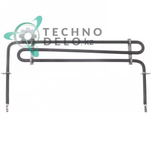 Тэн (1375Вт 230В) 370x87мм трубка d-5,5мм 0E5126 / 0E5253 для посудомоечной машины Electrolux, Zanussi