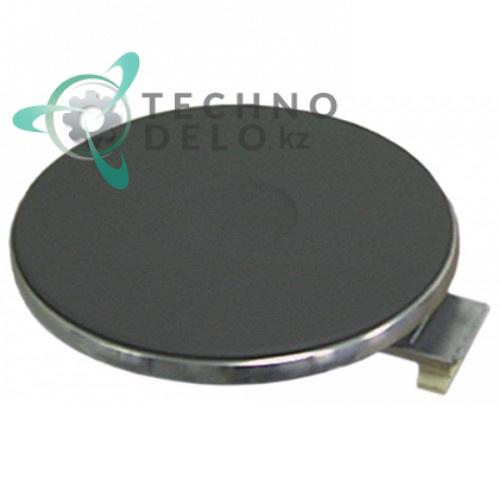 Конфорка электрическая EGO 12.22453.021/12.22453.025 (D-220мм 2000Вт 400В) нержавеющий ободок