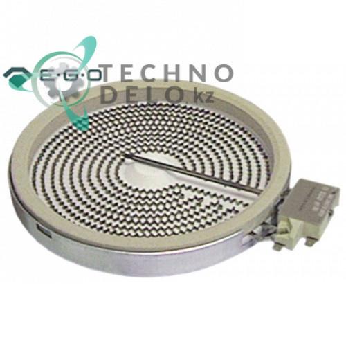 Конфорка EGO 10.51111.004 D-230мм 2300Вт 230В для стеклокерамических плит / универсальная