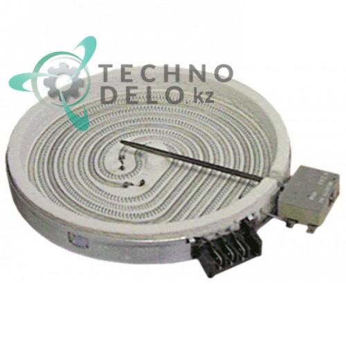 Конфорка нагреватель EGO 10.78431.004 D-200мм 1700Вт 230В для плиты Bonnet, Thirode и др.