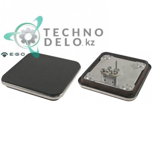 Конфорка электрическая EGO 11.22473.234 2000Вт 230В 220x220мм для плиты Ambach, Electrolux, MKN и др.