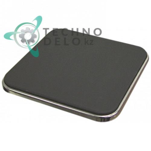 Конфорка электрическая EGO 11.22473.235 2000Вт 400В 220x220мм для плиты Ambach, MKN, Palux и др.