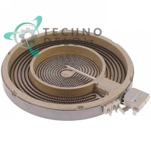 Конфорка нагреватель Ceramaspeed D-230мм 2100Вт 230В 537015301 для Gico, Lotus, Star10