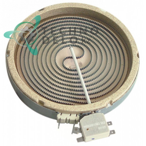 Конфорка Ceramaspeed D-200мм 1800Вт 230В 0C1809 0D6989 для Electrolux, Lotus, Zanussi и др.
