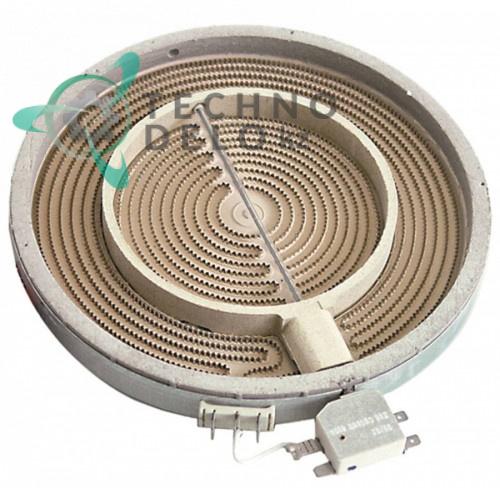 Конфорка EGO 1053211004 D-250мм 2,5кВт 230В 6A001401 для плиты Kuppersbusch, Olis и др.