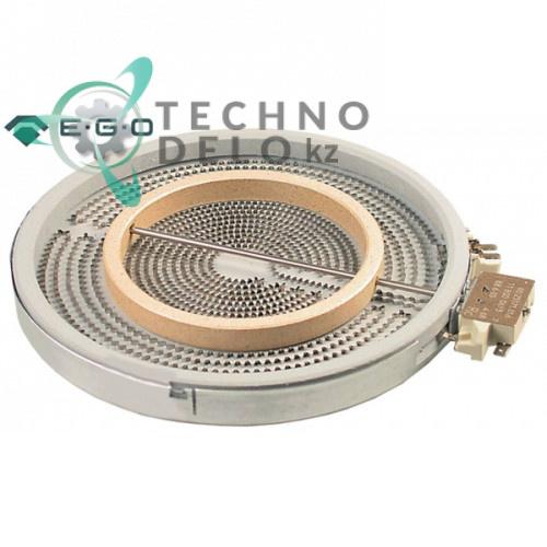 Конфорка EGO 10.53211.004 D-250мм 2500Вт 230В для плиты Mareno, MBM, Olis и др.