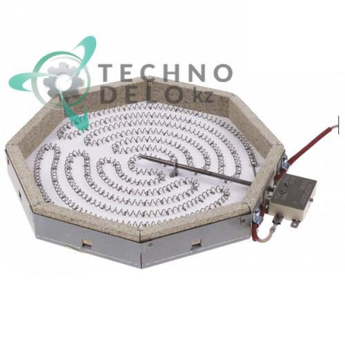 Конфорка AD 100.026 2100Вт 230В для плиты Mastro, Modular, Emmepi и др.