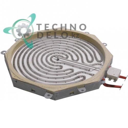 Конфорка 3400 Вт 230В 0C4077 для плиты электрической инфракрасной Zanussi/Electrolux E9 и др.