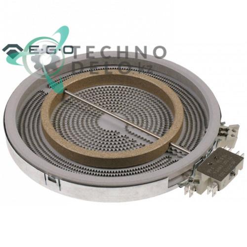 Конфорка нагреватель EGO 10.51213.432 D-230мм 2200Вт 230В 4055067781 для плиты Electrolux