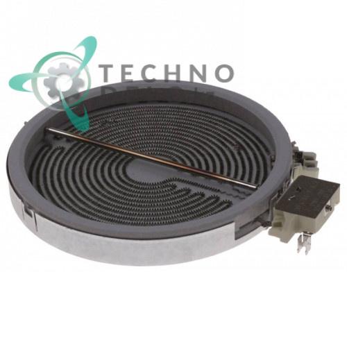 Конфорка нагреватель EGO 10.51116.006 (D-230мм / 2300Вт / 400В) для стеклокерамических плит