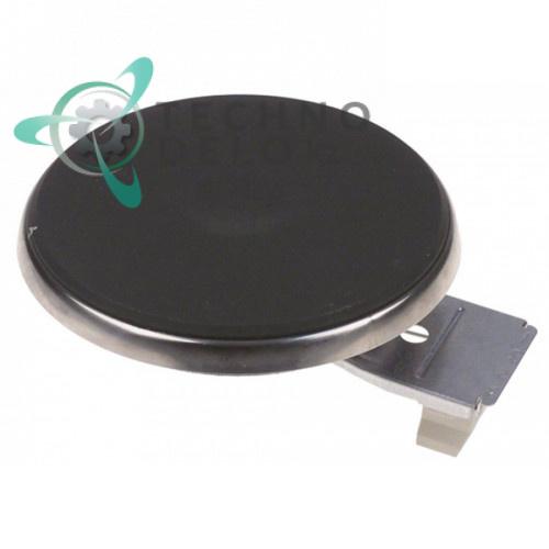 Конфорка электрическая EGO 1210453024 D-110мм 700Вт 230В (нержавеющий ободок) для Camurri и др.