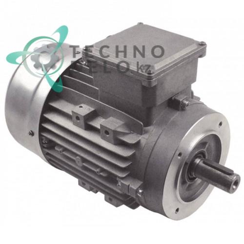 Мотор DRdrives TS90L4 1500/1800Вт 3 фазы вал ø24/27мм 1400/1680 об/мин SL3311 тестомесильной машины Fimar IM25CN и др.