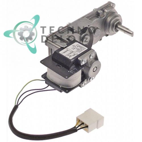 Мотор-редуктор Elco 40181233 230VAC 32/38 об/мин вал 6x12мм 225x75x100мм гранитора GBG, Sencotel, Staff Ice System