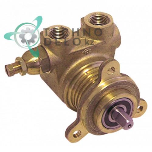 Головка насоса Fluid-O-Tech PA204F L-82мм 200л/ч 1220200004 / V510 для кофемашины Faema, Grimac