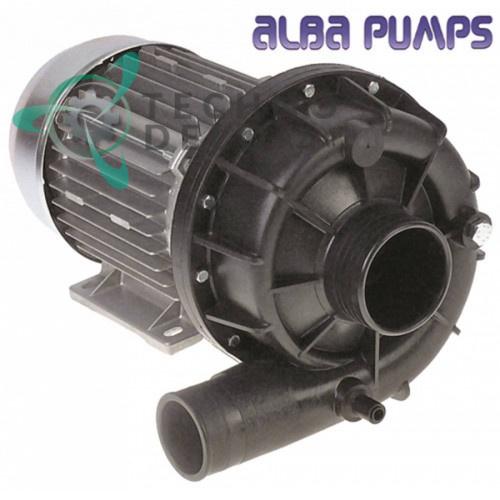 Насос ALBA PUMPS C12950 230/400В ø62/ø50мм 50400089 посудомоечной машины Rhima и др.