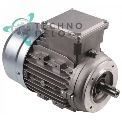 Мотор Lafert AT80C4 1100Вт 400В 3 фазы вал ø19 мм 8300530 для тестомеса Pizza Group TF17/TF22/TR17/TR22 и др.