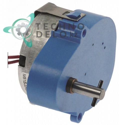 Мотор-редуктор Fiber G025J0BAFHA / M51BJ0R0000 230В 40 об/мин вал ø6мм для сокоохладителя CAB и др.